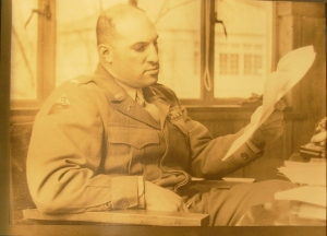 Victor E. Delnore in Japan during the Occupation.