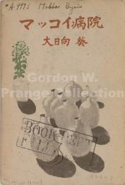 Call Number: D-0622 Ōhinata, Aoi. 1947. Makkoi byōin. Tōkyō: Dai Nihon Yūbenkai Kōdansha. Front Cover