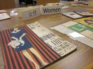 Original material display: Women