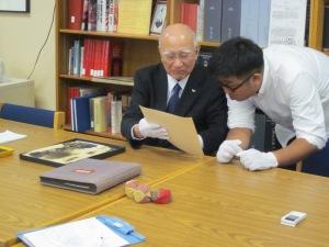 Mr. Fukahori and Mr. Okuno