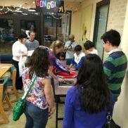 Gonggi (Korean game) table was popular!