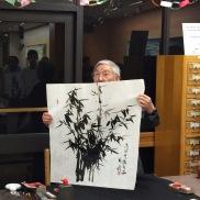 Calligraphy/Brush Paint Demonstration by Mr. Bertrand Mao