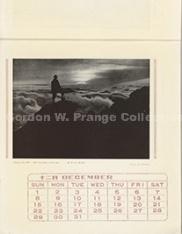 """""""山と渓谷社版 アルパイン・カレンダー : : the Yama to Keikokusha's alpine calender/Yama to Keikokusha-ban arupain karenda : the Yama to Keikokusha's alpine calender"""" (Prange Call No. CE-0007)"""