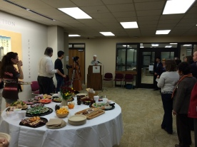 UMD Libraries Dean Steele introduces a new Prange Collection Curator, Yukako Tatsumi.