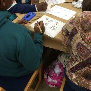 Maryland Day 2016 - Calligraphy