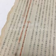 """Natsume Soseki"" by Komiyha Toyotaka (Prange Call No. PL-41994) fragment"