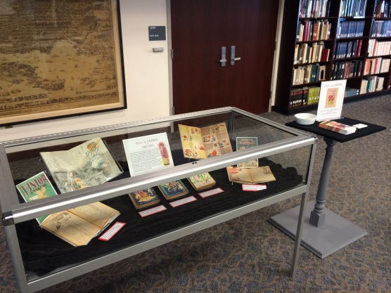 """Alice in Japan,"" in display in the Maryland Room, Hornbake Library North."