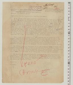 Translation of a censored newspaper article from Asahi Shimbun, October 1, 1947